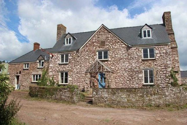 Thumbnail Detached house for sale in Llewyn - Y- Celyn Farm House, Shirenewton, Chepstow