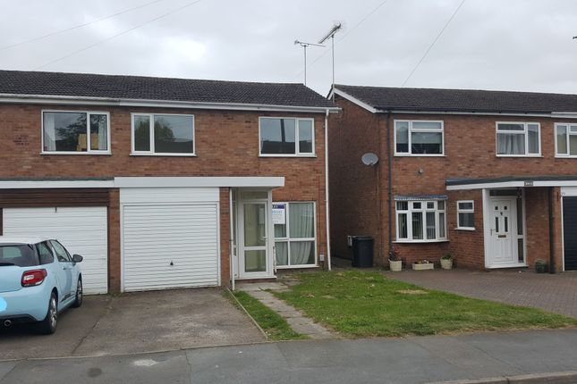 Thumbnail Semi-detached house to rent in Frobisher Road, Rugby