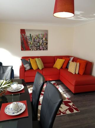 Thumbnail Flat to rent in Brentwood Close, Bedford