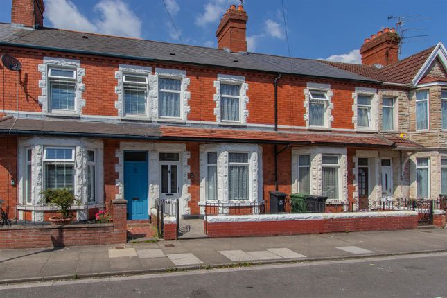 Thumbnail Terraced house to rent in Brunswick Street, Canton, Cardiff