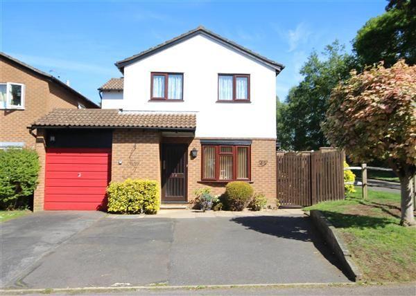 Thumbnail Detached house to rent in Argyle Close, Whitehill, Bordon