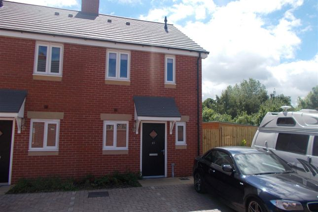 Thumbnail Semi-detached house for sale in Penson Way, Abbey Walk, Shrewsbury