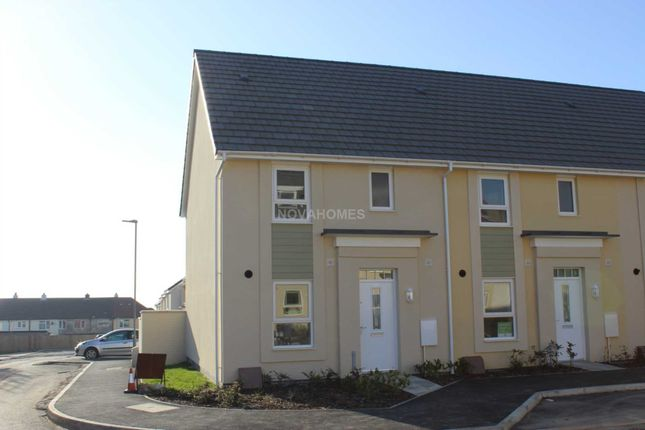 Thumbnail End terrace house for sale in Unity Park, Higher Compton