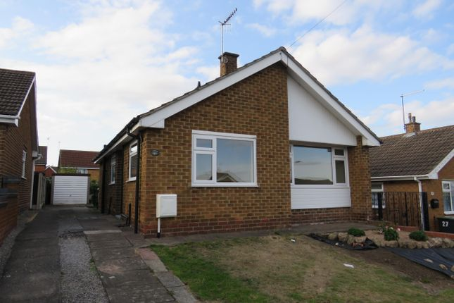 Thumbnail Detached bungalow to rent in Mary Road, Eastwood, Nottingham