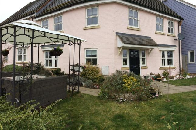 Thumbnail Semi-detached house for sale in Stowe Walk, Daventry