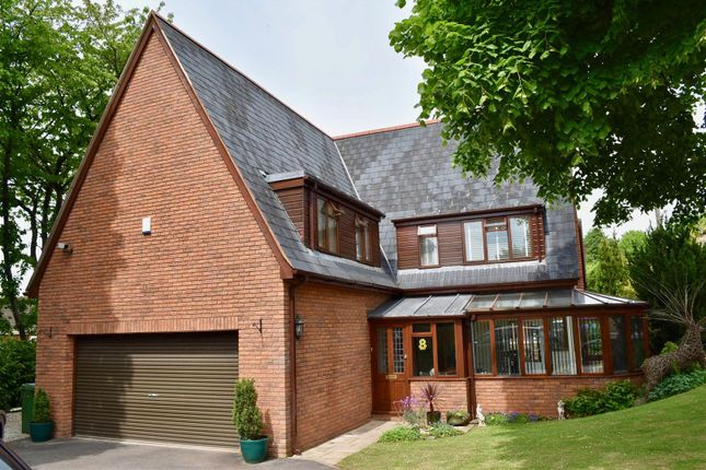 Thumbnail Detached house for sale in Bruford Close, Trull Road, Taunton