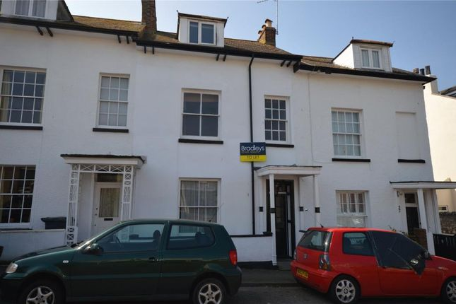 Thumbnail Terraced house to rent in Clarence Road, Exmouth, Devon