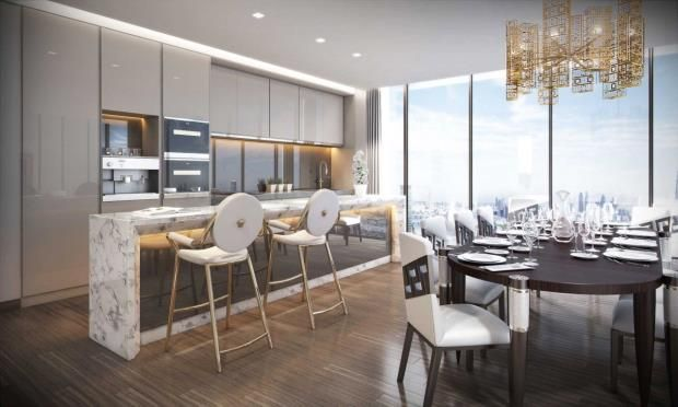 Parking/garage for sale in Damac Tower, Nine Elms, Vauxhall, London