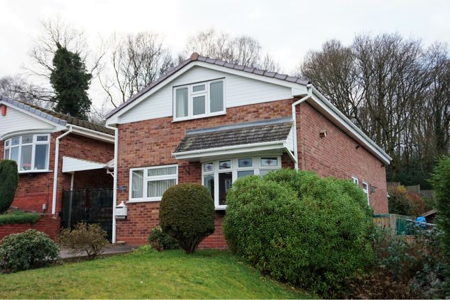 Thumbnail Detached house for sale in Waverley Gardens, Rugeley