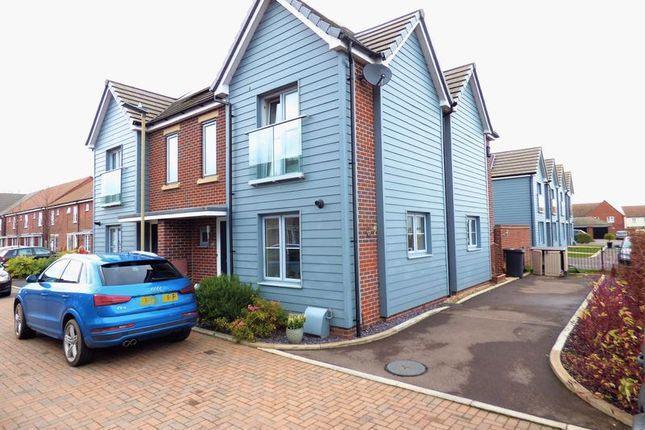 Thumbnail Semi-detached house for sale in Mainsail Lane, Hempsted, Gloucester