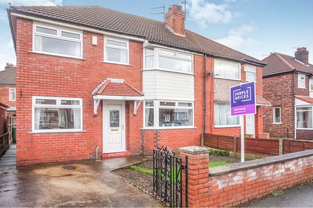 Thumbnail Semi-detached house for sale in Tanfield Road, Manchester