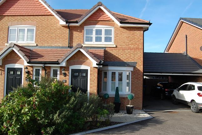 Thumbnail Semi-detached house to rent in Crocus Avenue, Minster On Sea, Sheerness, Kent