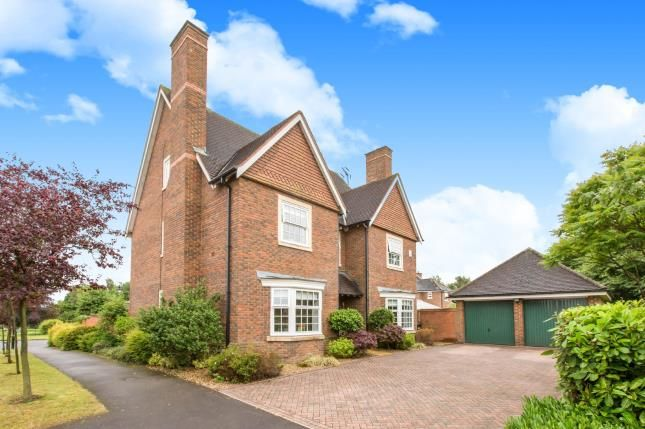 Thumbnail Detached house for sale in Abbeydale Close, Weston, Crewe, Cheshire