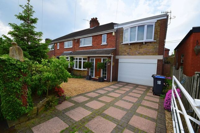 Thumbnail Semi-detached house for sale in Leonard Drive, Brown Edge, Stoke-On-Trent