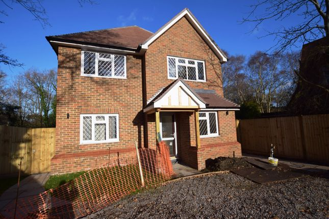 Thumbnail Detached house for sale in Mytchett Road, Mytchett, Camberley, Surrey