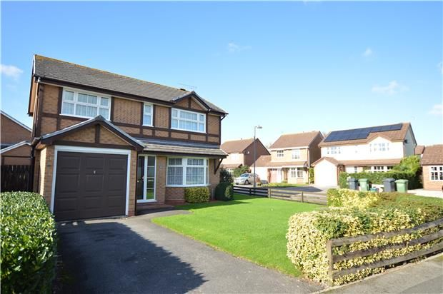 Thumbnail Detached house for sale in Hudson Close, Yate, Bristol