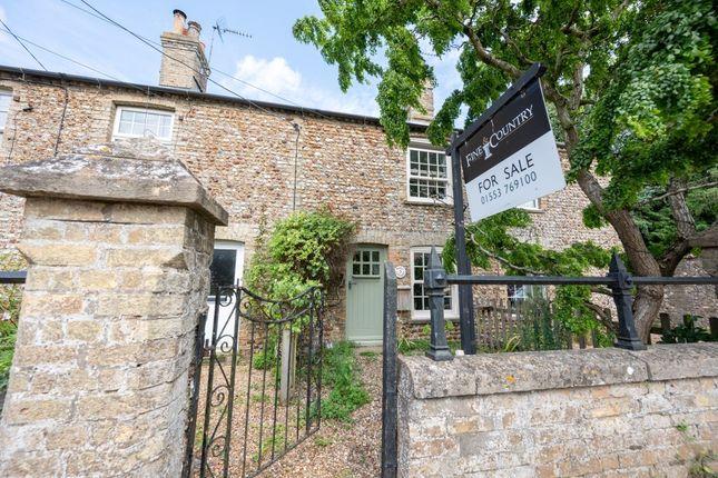 Thumbnail Terraced house for sale in Chapel Road, Boughton, King's Lynn, Norfolk
