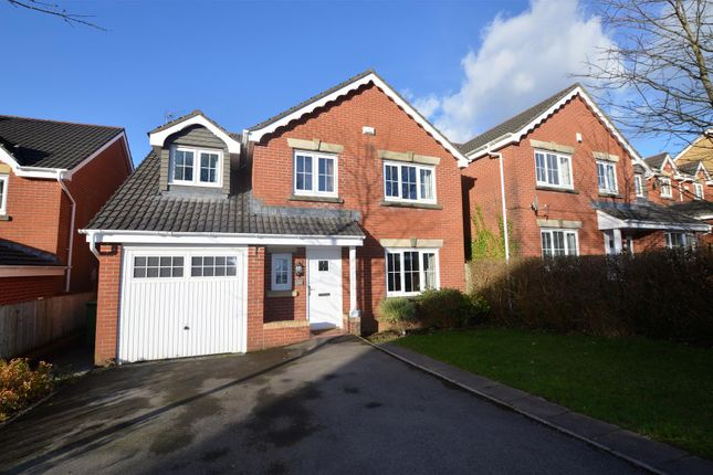 Thumbnail Detached house for sale in Bryn Dewi Sant, Miskin, Pontyclun