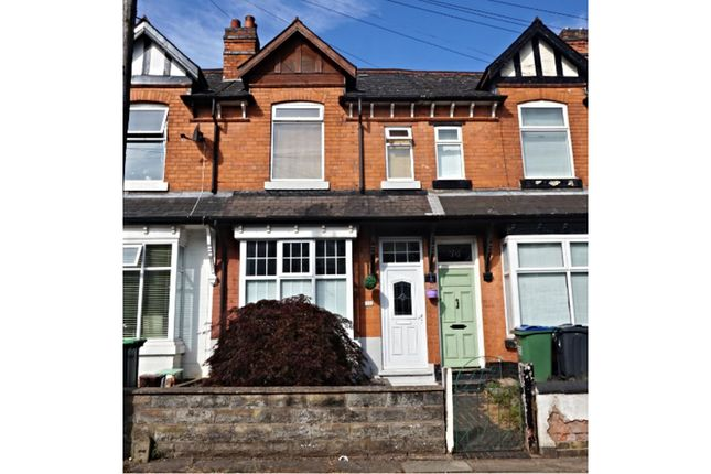 Thumbnail Terraced house for sale in Park Road, Smethwick