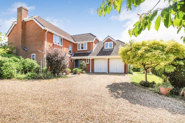 Thumbnail Detached house for sale in Bramble Lane, Sarisbury Green, Southampton