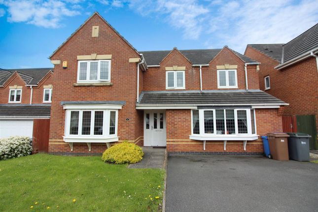 Thumbnail Detached house for sale in Gainsmore Avenue, Norton Park, Stoke-On-Trent