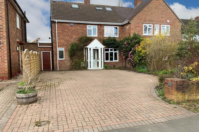 Semi-detached house for sale in Highwood Avenue, Solihull