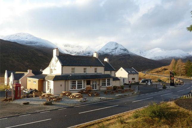 Thumbnail Commercial property for sale in Cluanie Inn, Glenmoriston, Inverness, Highland