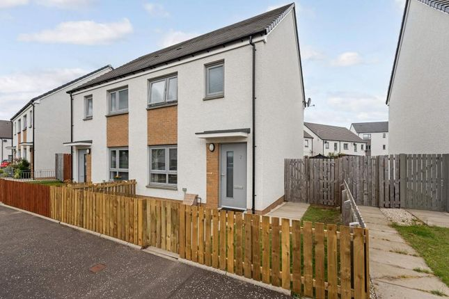Thumbnail Semi-detached house for sale in Curlers Loan, Stirling, Stirlingshire