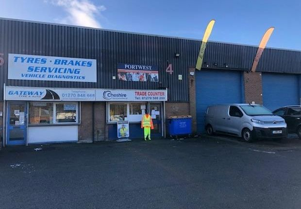 Thumbnail Industrial to let in Unit 4 The Gateway, Crewe Gates Industrial Estate, Crewe, Cheshire