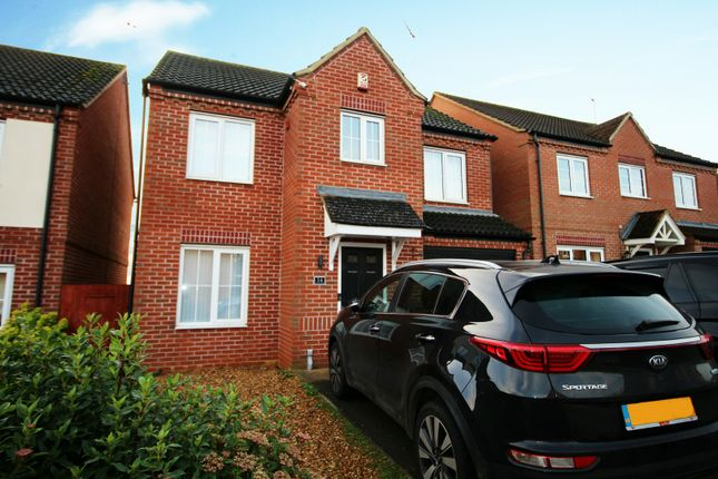 Thumbnail Detached house for sale in Auckland Close, Northampton, Northamptonshire
