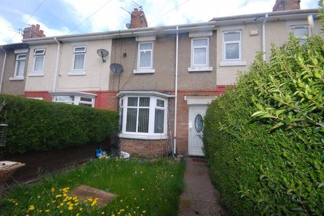 3 bed terraced house for sale in Cavendish Gardens, Ashington NE63
