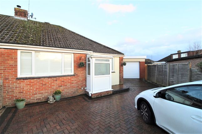Thumbnail Semi-detached bungalow to rent in Silverdale Drive, Waterlooville