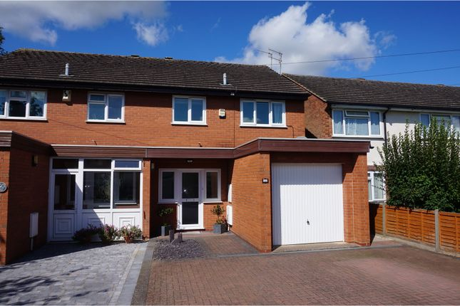 Thumbnail Semi-detached house for sale in Brookside Road, Stratford-Upon-Avon