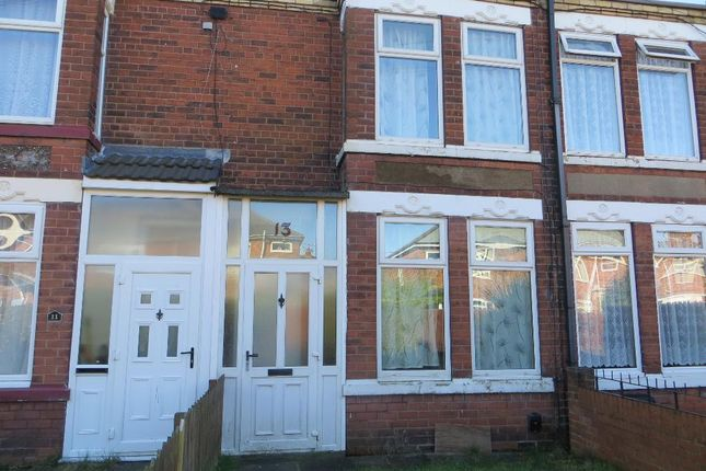 Thumbnail Terraced house to rent in Warneford Gardens, Hull