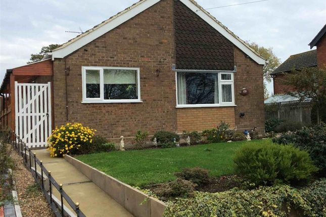 Thumbnail Detached bungalow for sale in Church Road, Kessingland, Lowestoft