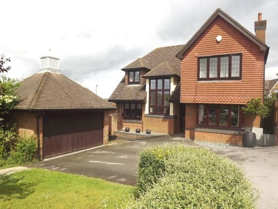 Thumbnail Detached house for sale in Hatch Warren, Basingstoke, Hampshire