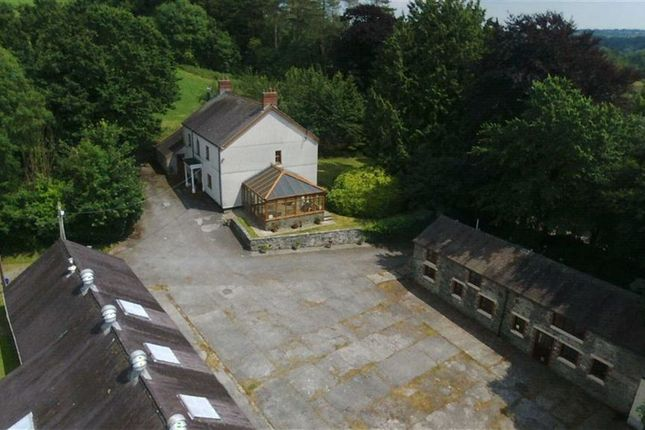 Thumbnail Farm for sale in Castell Pigyn Road, Abergwili, Carmarthen