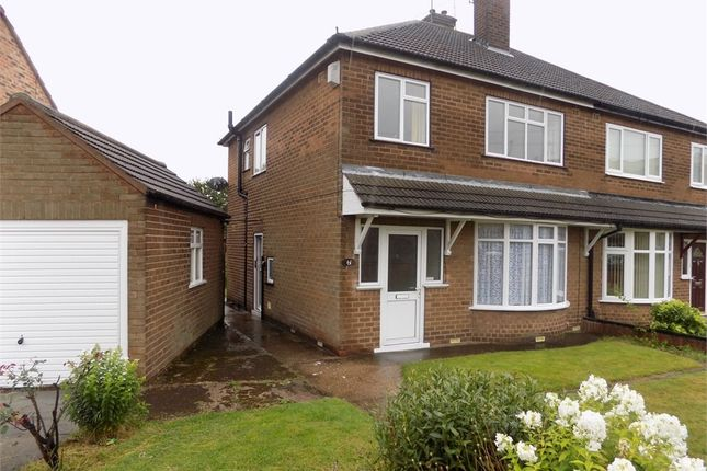 Thumbnail Semi-detached house to rent in Ashley Road, Worksop, Nottinghamshire