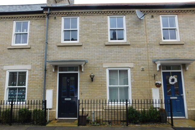 Thumbnail Terraced house to rent in Kipling Crescent, Fairfield, Hitchin