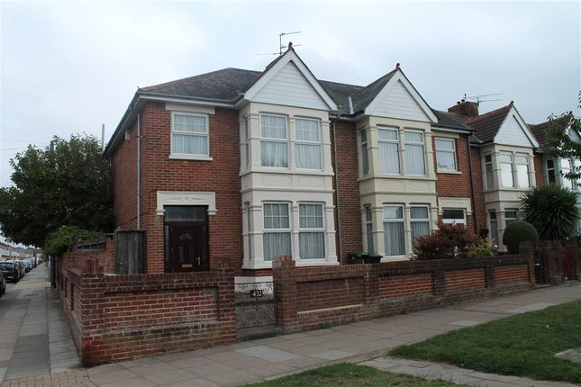 Thumbnail End terrace house for sale in Copnor Road, Portsmouth, Hampshire
