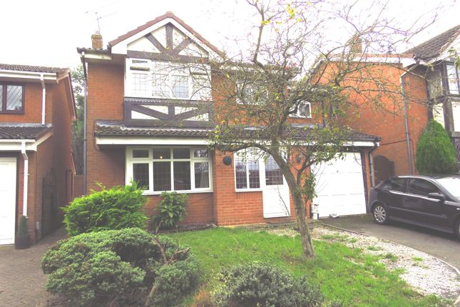 Thumbnail Detached house for sale in Yarrow Close, Rugby