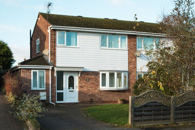 Thumbnail Semi-detached house to rent in Burley Rise, Kegworth, Derby