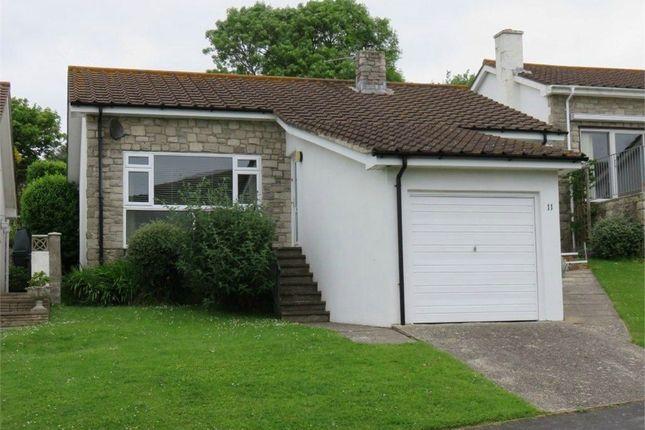 Thumbnail Detached bungalow for sale in Shepherds Way, West Lulworth, Wareham, Dorset
