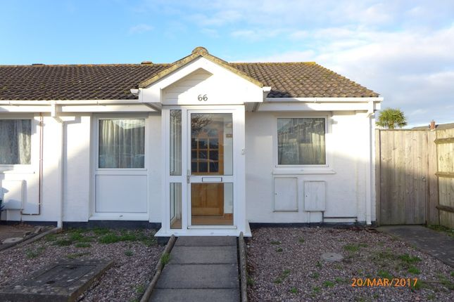 Thumbnail Bungalow to rent in Newcross Park, Kingsteignton