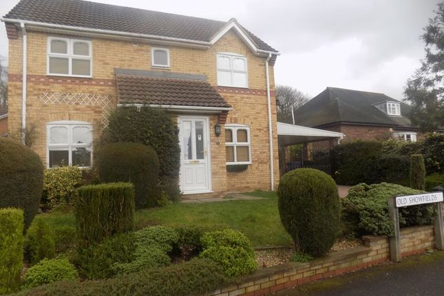 Thumbnail Detached house for sale in Old Showfields, Gainsborough