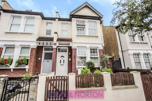 Thumbnail End terrace house for sale in Dalmally Road, Addiscombe
