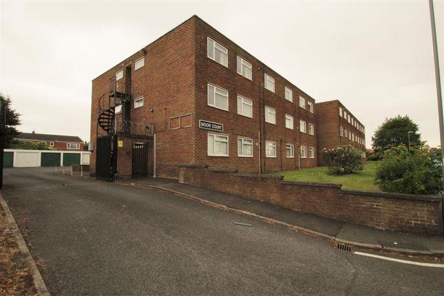 Front of Moor Court, Fazakerley, Liverpool L10