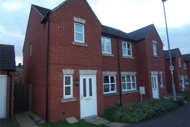 Thumbnail Semi-detached house to rent in Lawrence Avenue, Mansfield Woodhouse, Mansfield