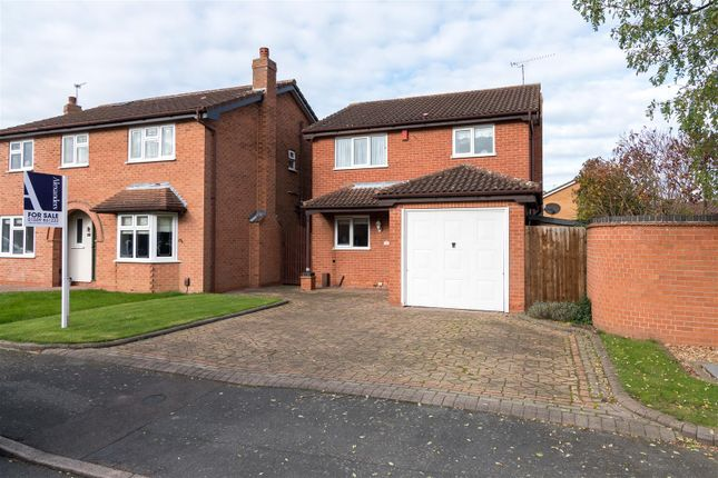Thumbnail Detached house for sale in Pepper Drive, Quorn, Loughborough