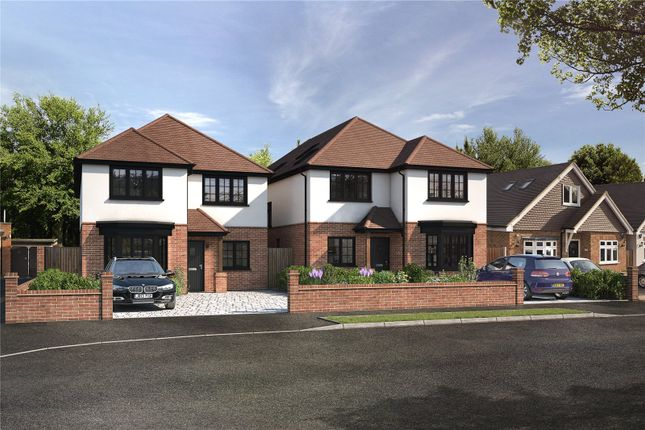 Thumbnail Detached house for sale in Foxhall Road, Upminster